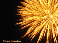 sunburst fireworks