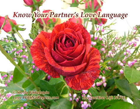 Know your partner's love language
