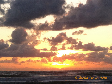 Sunrise at Daytona Beach, FL